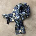 Aperitif silke tørklæde - Blue dots