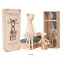 Maileg Ballerina kat and mus i æske-01