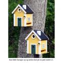 Fuglehus Wildlife Garden Gul Hytte-00