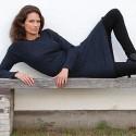 Gorridsen Design Fortuna strik-kjole blå-01