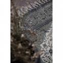 Ib Laursen - Gulvtæppe brun, grøn, bordeaux mønster 120x180cm