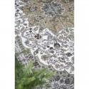 Ib Laursen - Gulvtæppe grøn/gylden mønster 120x180cm