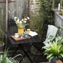 Ib Laursen - Sort Cafe bord