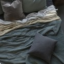 Ib Laursen - Quilt sengetæppe dusty petrol
