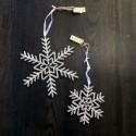 Iskrystal - sølvglitter