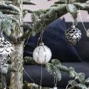 Ornament Julekugle Gold details 8cm-02