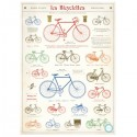 Plakat Le bicyclettes 50x70cm-00