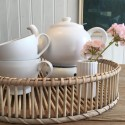 Plint - Hvid kop