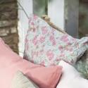 Ib Laursen - Pudebetræk Pink turkis blomst