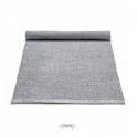 Plastik gulvtæppe Lys grå-01