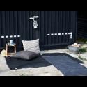 Plastik gulvtæppe Sort-01