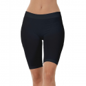 One size microfiber cykelshorts/tights - sort