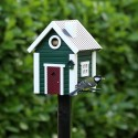 Fuglehus Wildlife Garden - Grøn Hytte