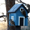 Fuglehus Wildlife Garden - Blå Hytte