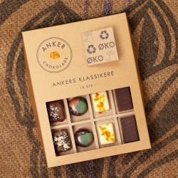 Anker chokolade - 16 stk klassikere