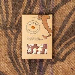 Anker chokolade - Mælke chokolade m/Piemonte hasselnødder