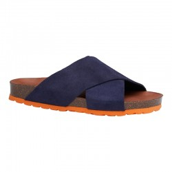 Annet sandal - Blå /orange bund