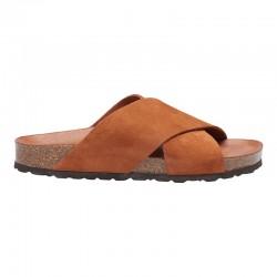 Annet sandal - Cognac m/ brun bund