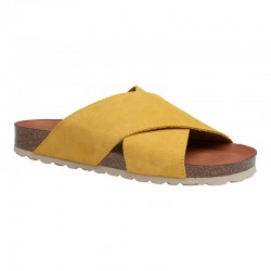 Annet sandal - Gul m/ sand bund