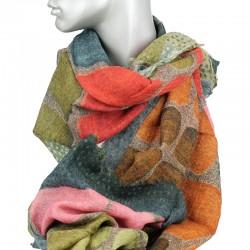 Aperitif tørklæde - Uld Cubi