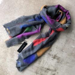 Aperitif tørklæde - Uld Col. form