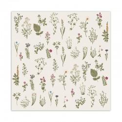 Ib Laursen - Flora serviet 50 stk