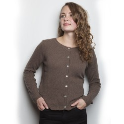 Gorridsen Design - Theia cashmere cardigan Kakao