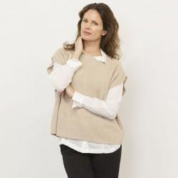 Gorridsen Design - Liva vest Cream