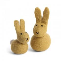 Én Gry & Sif - Hare sæt - gul