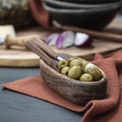 Ib Laursen - Aflang skål i akacietræ