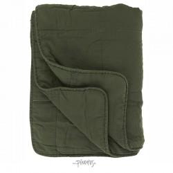 Ib Laursen - Mørkegrøn Quilt tæppe