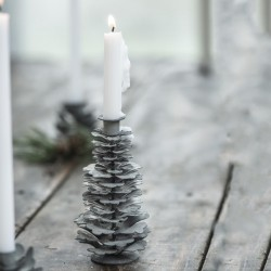 Ib Laursen - Kogle lysestage til kertelys
