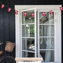 Langkilde & søn - Lille flagranke 10 flag