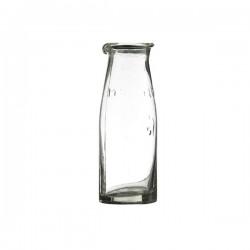 Mælkeflaske i glas 16cm