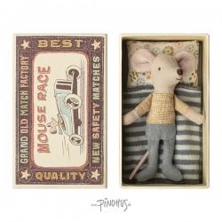 Maileg - mini mus dreng i æske