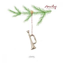 Maileg - Oph. sølv trompet