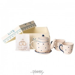 Maileg - Box m/Tea & biscuits for two