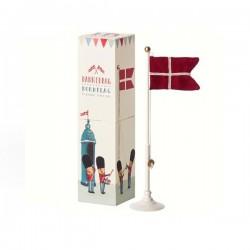 Maileg - Dannebrog Bord flag 25,5cm