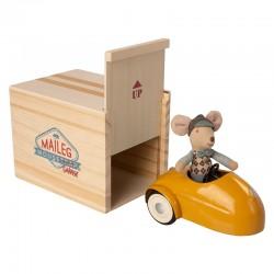 Maileg - Gul bil, mus & garage