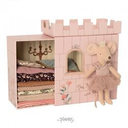 Maileg mus - Prinsesse musen på ærten