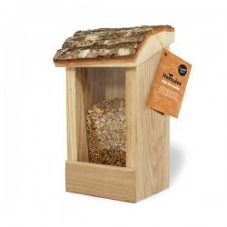 Natur fugle foderautomat til væg