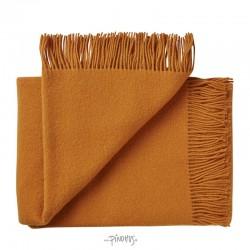 Uld plaid athen - Pumkin orange