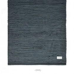 Kludetæppe bomuld - Steel grey