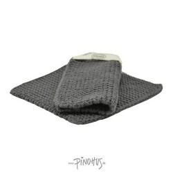Solwang Grydelapper - Mørk grå
