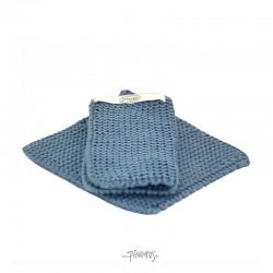 Solwang Grydelapper - Rustic blå