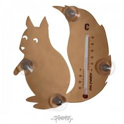 Pluto termometer m/sugekop - Egern