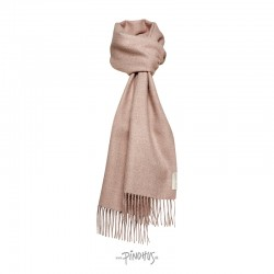 Halstørklæde - Baby alpaca gammelrosa