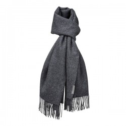 Halstørklæde - Baby alpaca mørk grå