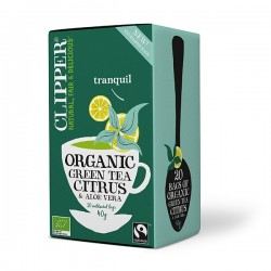 Clipper te - Grøn te m/ aloe vera & citrus