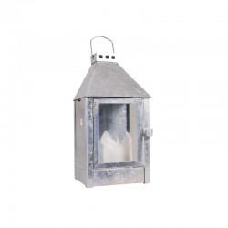 Galvaniseret lanterne - A2 living Væglanterne